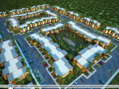 magic village 2 - townhomes air view 2